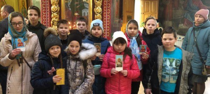 Воспитанники Воскресной школы приняли участие в Олимпиаде