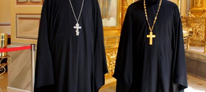 Настоятель и клирик храма были удостоены иерархических наград